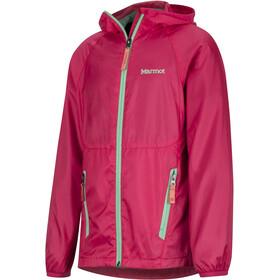 Marmot Ether Veste à capuche Fille, disco pink